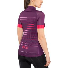 Alé Cycling Solid Ergo SS Jersey Damen purple-gerbera